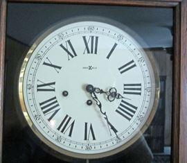Face of Howard Miller wall clock