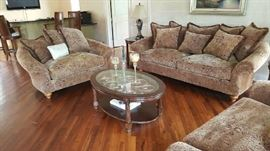 living room set with coffee table set