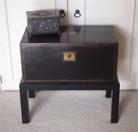 Rosewood box on stand