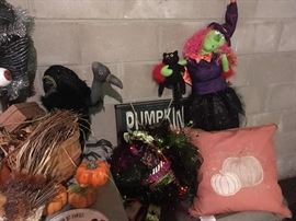 Tons of Halloween Decorations