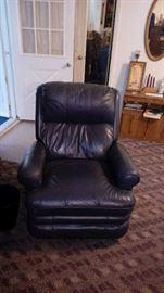 A relaxing recliner