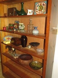 Another shelving unit and lots of interesting things!