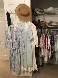 women's robes and hat