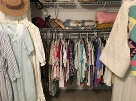 women's clothing, size med and large