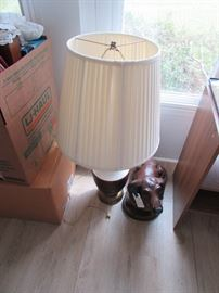 Lamps, dog decor