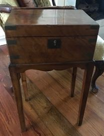 19th century writing desk on stand