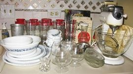 old Kitchen Aid, correll and much more
