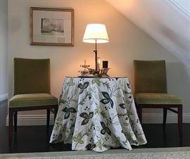 An elegant entry setting