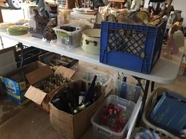 Old bottles, new bottles, craft items, and some surprises!