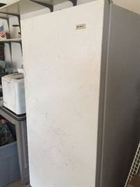 This freezer can still keep deer and squirrel meat frozen stiff...