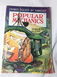 1937 Popular Mechanics, 12-15 others from the 40s and 50s.