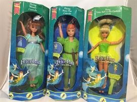 Rare peter pan dolls