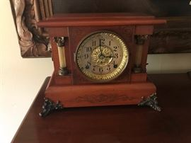 1880's Seth Thomas Mantle clock works $250 or best offer