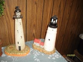 Lefton lighted lighthouses
