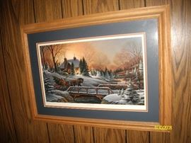 "Terry Redlin ""Heading Home"" print"