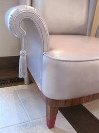 We have two of these stunning leather armchairs.