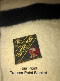 Trapper Point Four Point Wool Blanket