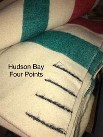 Hudson Bay Four Point Wool Blanket