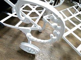 Molla Patrician aluminum chaise lounges (2)