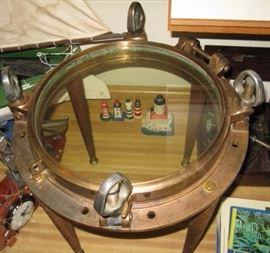 large porthole table
