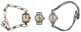 14k Gold Wrist Watches