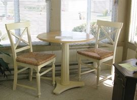 sweet small table and 2 chair set
