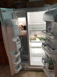 Inside of the refrigerator