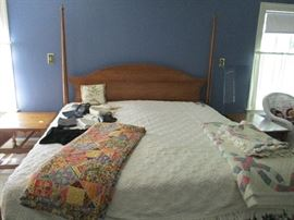 KING SIZE BED WITH A SLEEP NUMBER MATTRESS