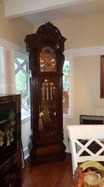 7' Sligh Grandfather Clock