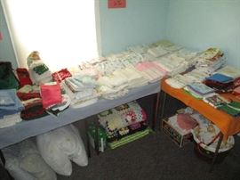 Linens and bedding