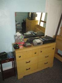 Dresser and radios