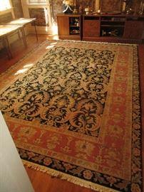 Large floor rug