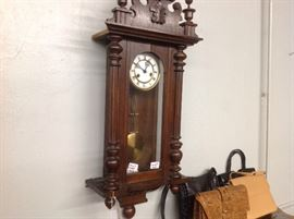 Gustov Becker Clock