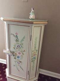 hand-painted cabinet with Mackenzie fish pull