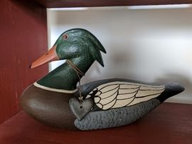 Duck Decoy by  Dallas Valley