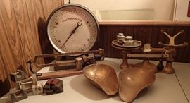 VINTAGE / SCALES / TRAYS / WEIGHS