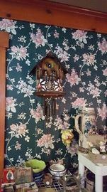 vintage working cuckoo clock