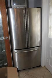 LG stainless fridge