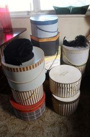 Vintage hats with original boxes-$35.00