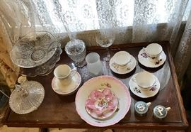 Misc Glassware and China