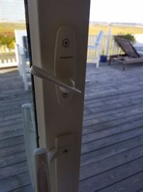 Two 8 ft. Andersen sliding glass doors