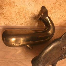 Brass Whale $48