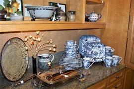 China, etc. found in the kitchen