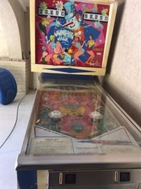 In cleaning the pinball machine today it was determined this is not in working order. It would need to be completely refurbished. If you're interested in taking it on as a project, let us know. We've had this in our family since 1973! - Thanks to the guy you bought it anyway!
