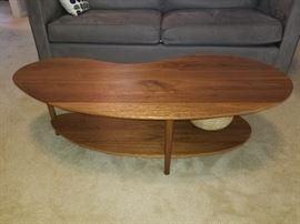 Room & Board Stafford Kidney Shaped Coffee Table