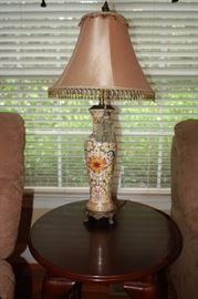 Ceramic decorative lamp