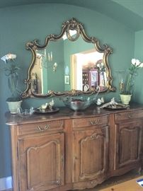 Sold =Cherry French Country Buffet