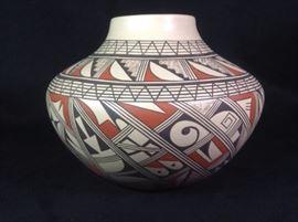 Fannie Nampeyo Hopi Polychrome Pot