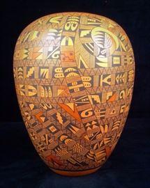 Verla Dewakuku Hopi Hano Village Vase