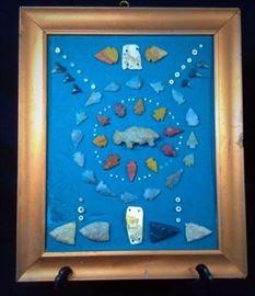 Arrowheads Effigy Beads